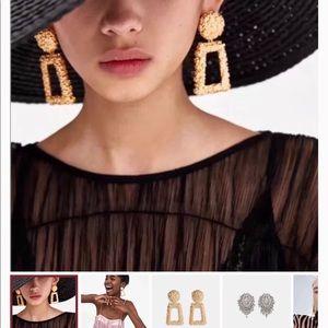 Zara Massive earrings
